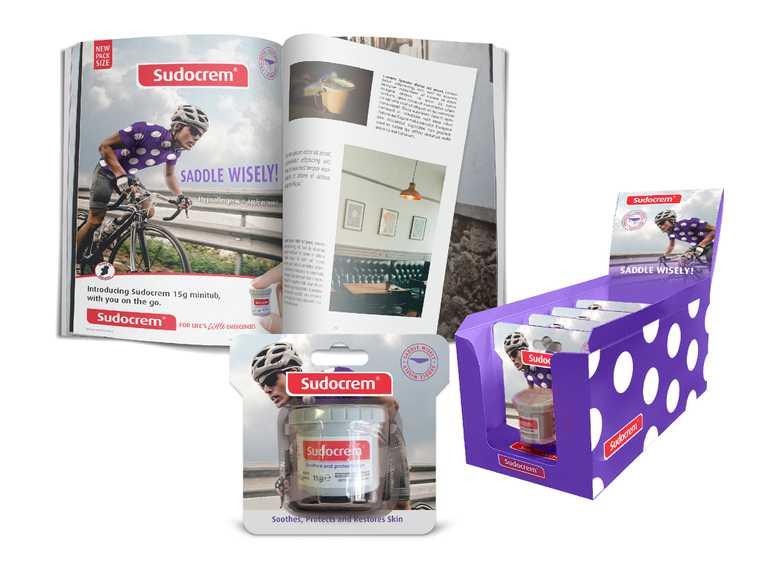 sudocrem print advertisement and display box