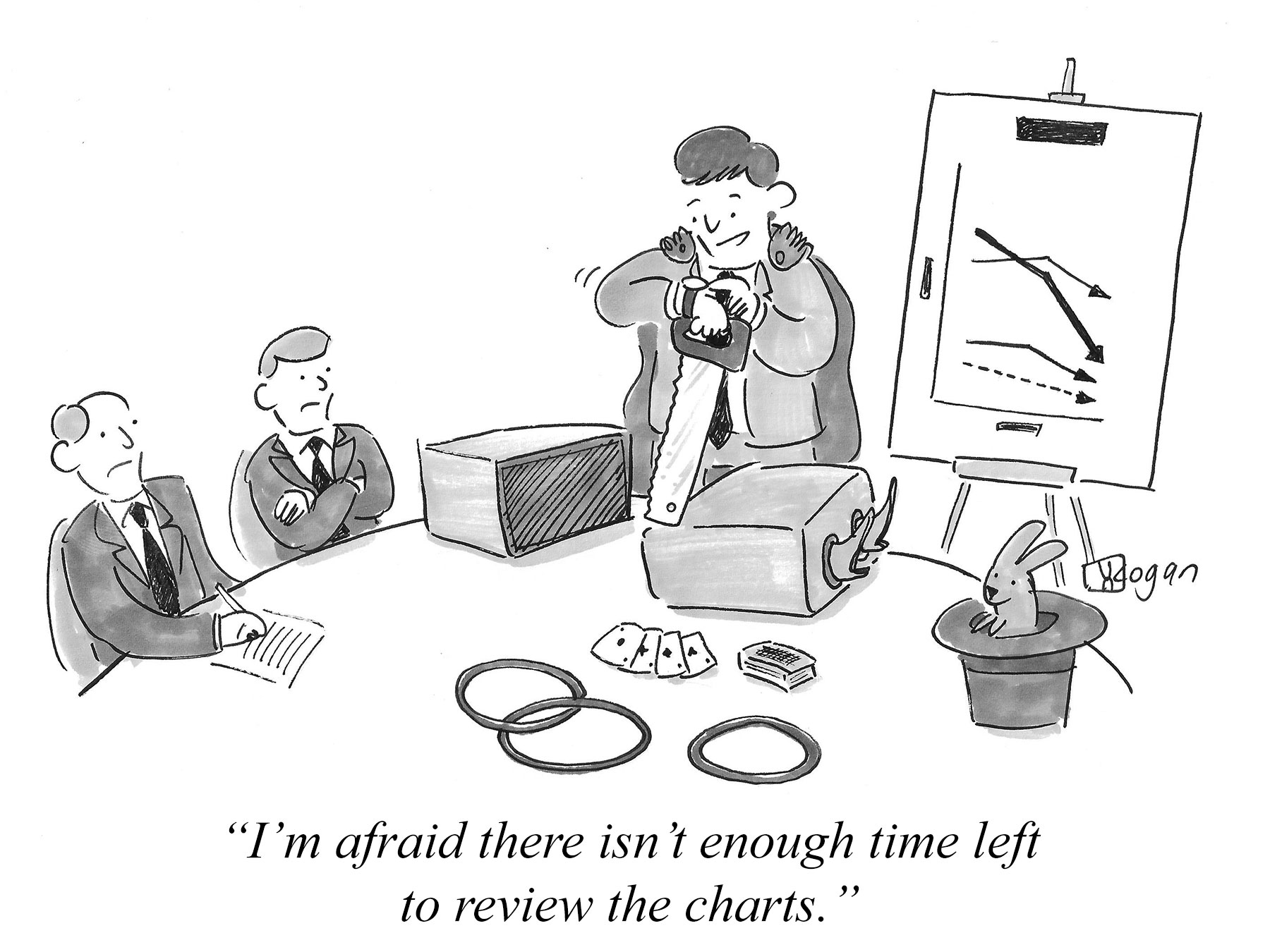 Cartoon about poor performance