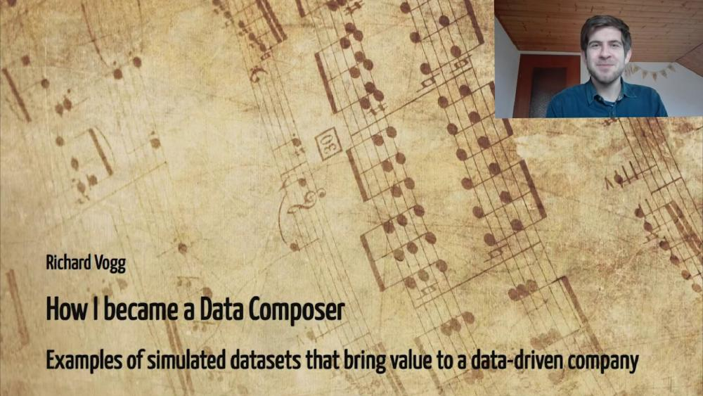 How I became a Data Composer – examples of simulated datasets that bring value to a data-driven company