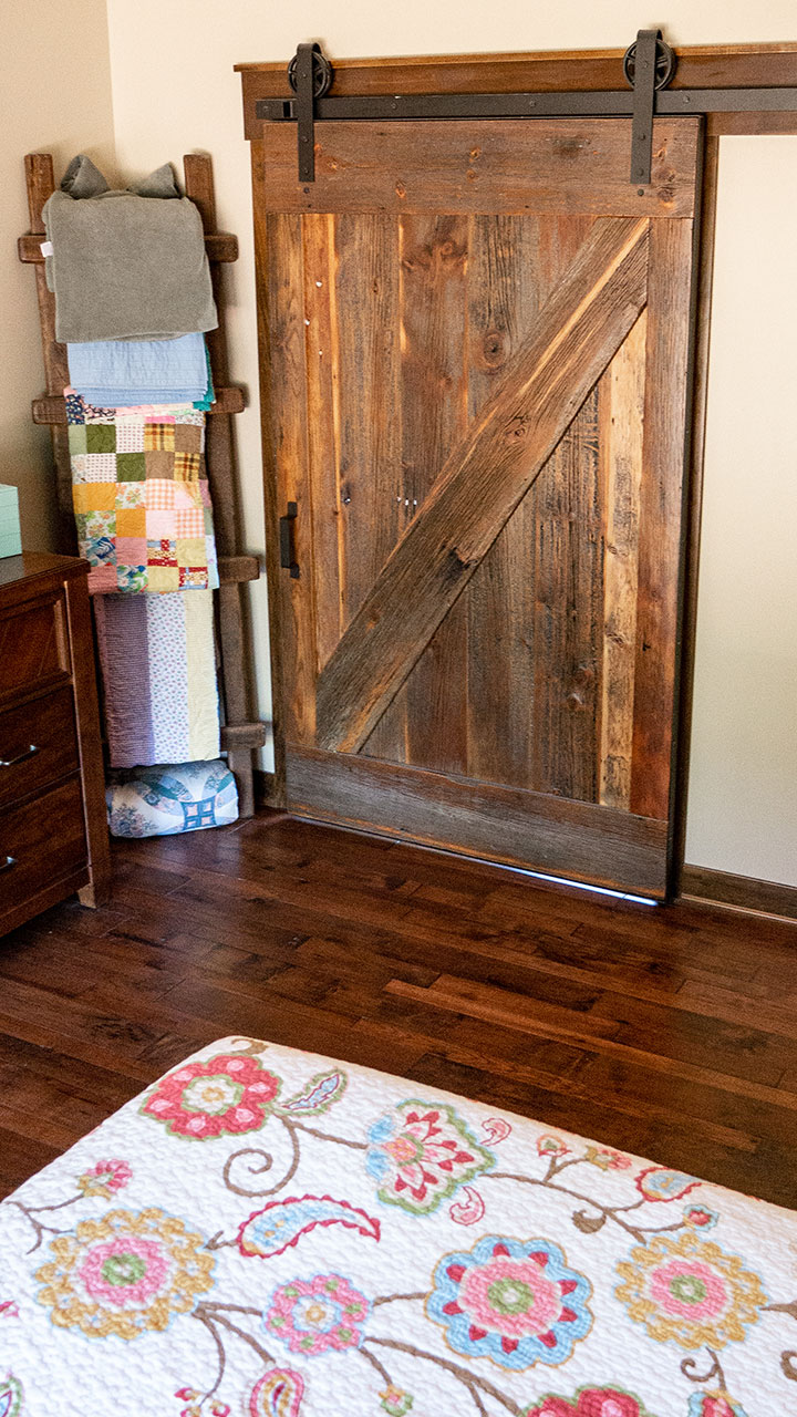 Custom Barnwood Door