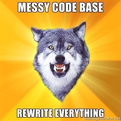 Code Wolf Meme