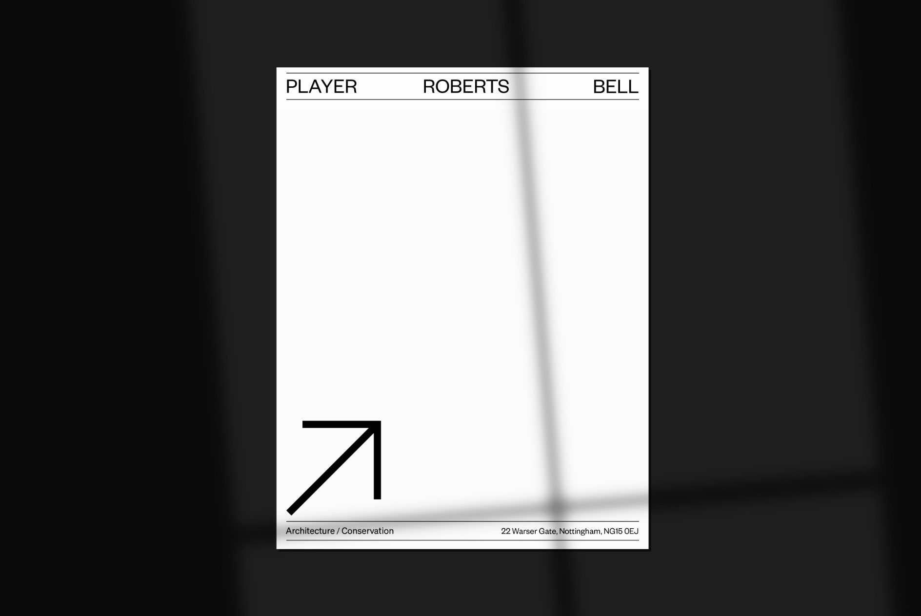 PRB Brand Letter Design