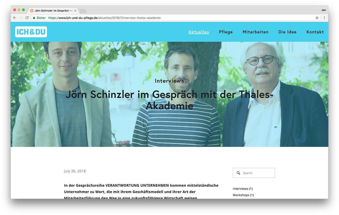 KreativBomber Onlineagentur Freiburg - ICH & DU Pflege Freiburg Blog