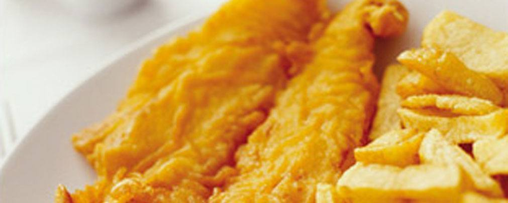 Quality Fish and Chips at the Holiday Inn Fish Restaurant