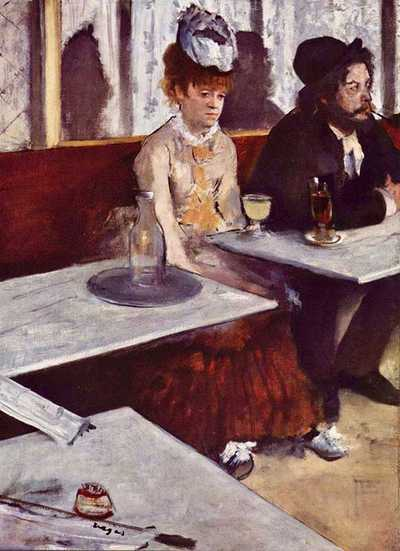 Degas' The Absinthe Drinker