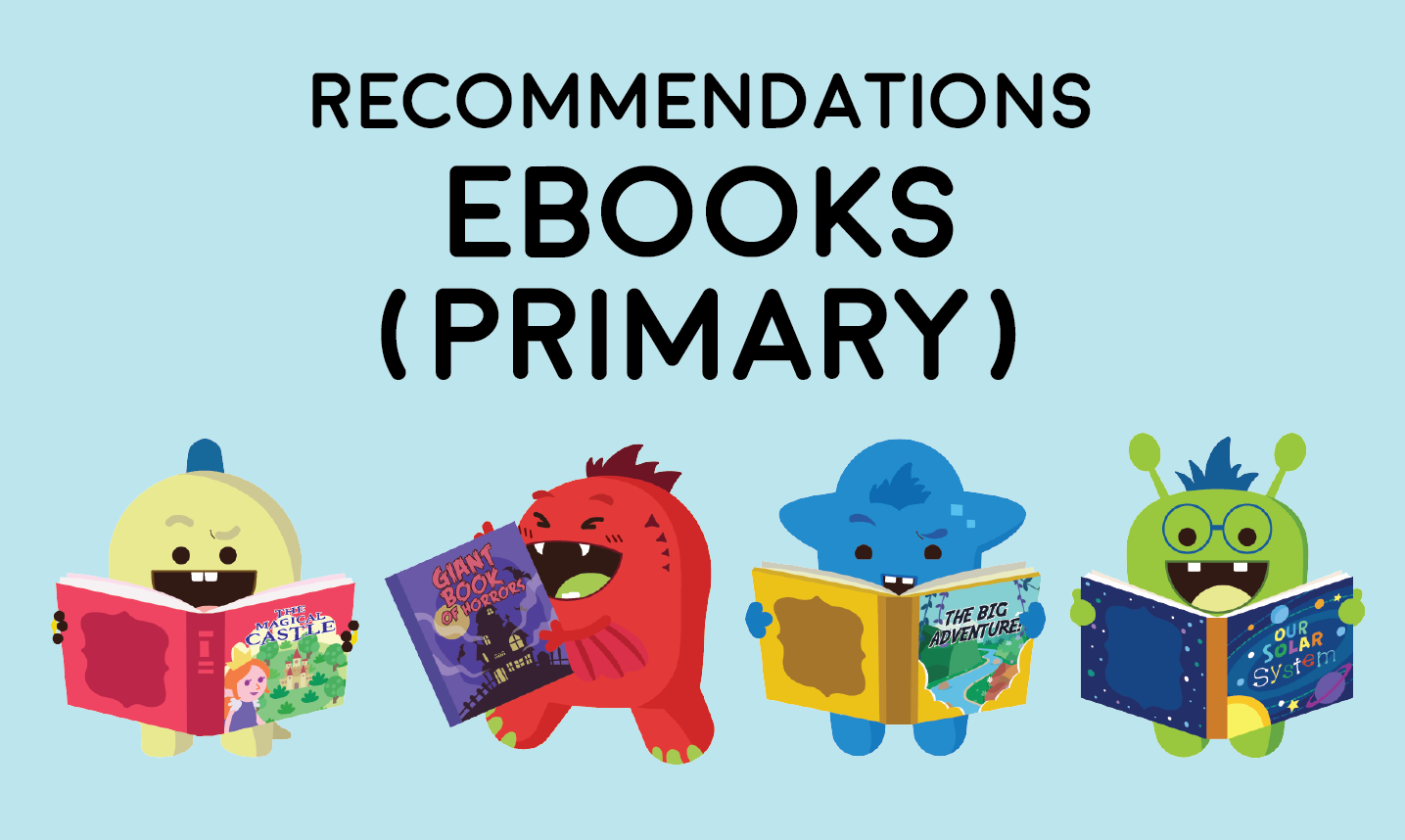 Primary ebook recommendations image