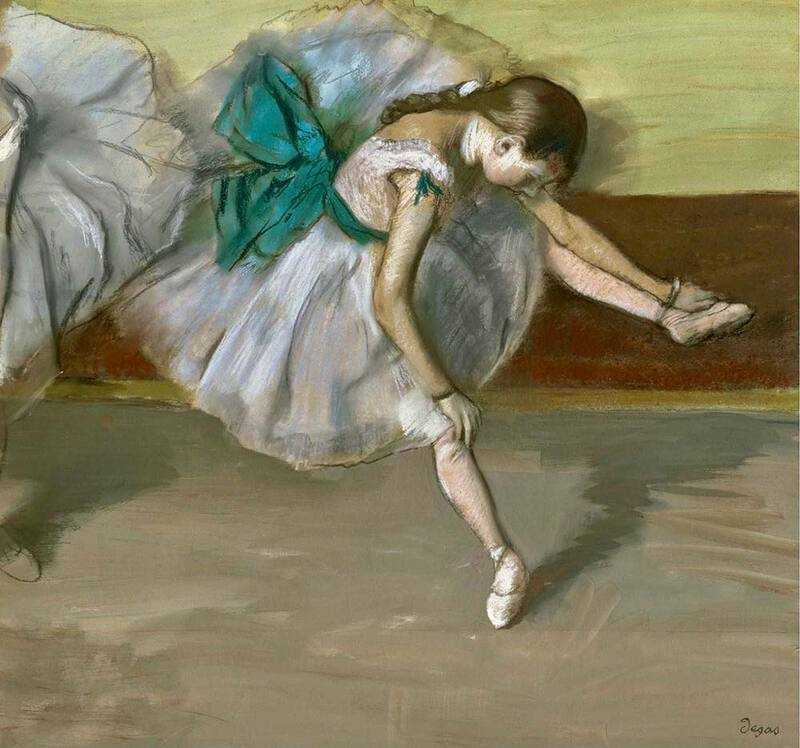 Edgar Degas' Danseuse en Repos was sold for $37 million by Sotheby's New York in November 2008.