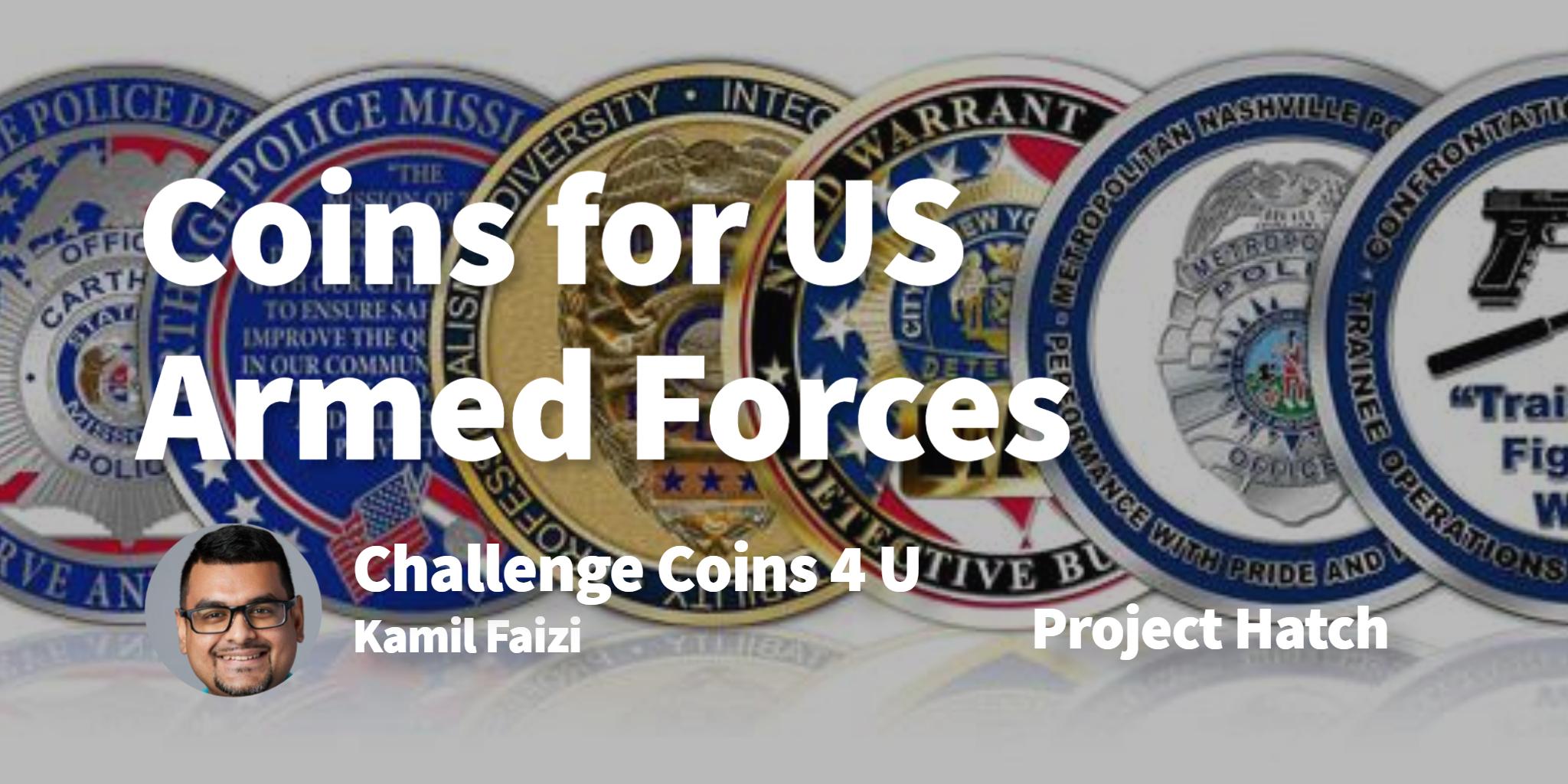 Challenge Coins 4 U Kamil Faizi