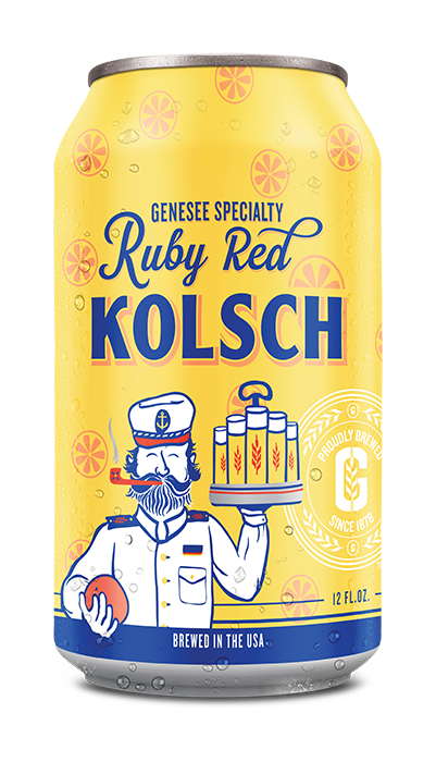 Genesee Ruby Red Kolsch can