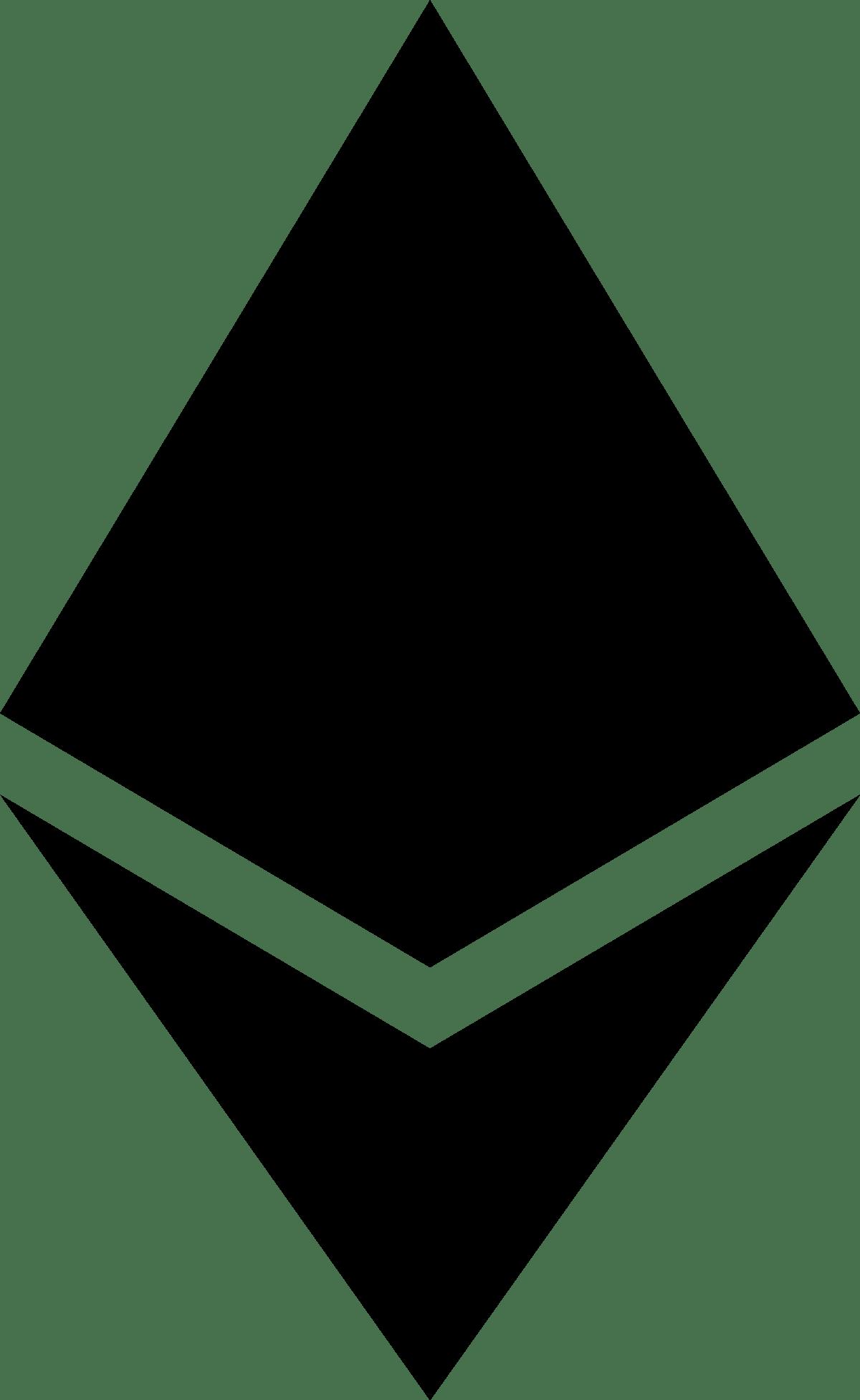 Ethereum icon black