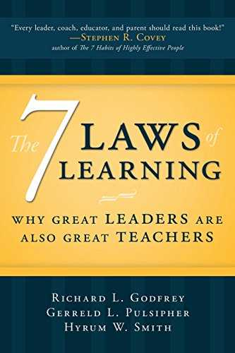 The Seven Laws of Learning: Why Great Leaders Are Also Great Teachers Cover
