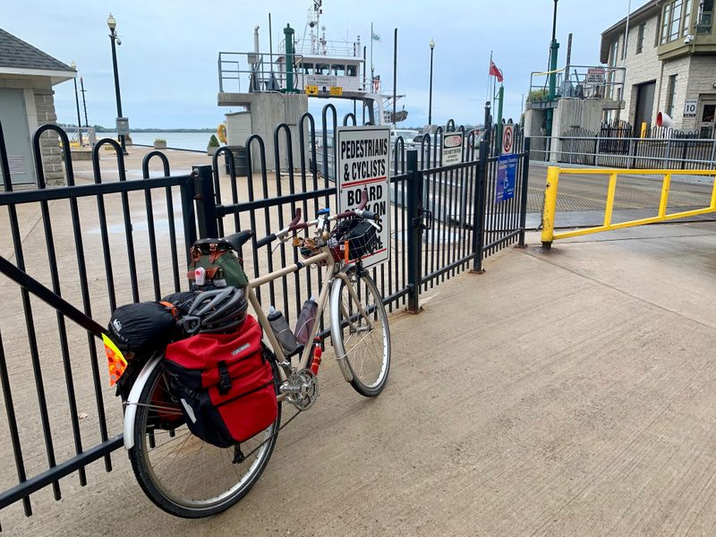 Waiting for the Glenora ferry