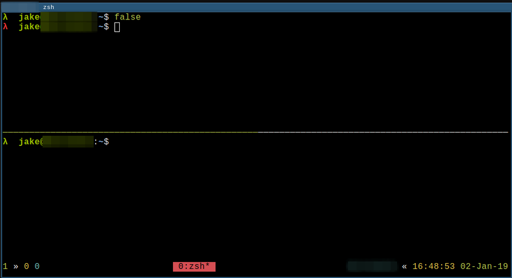 My shell prompt