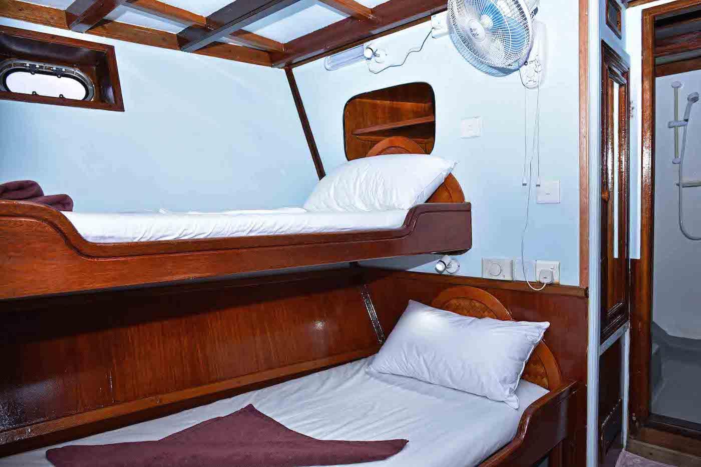 Blue Horizon 2 Surf Charter Boat Maldives Cabins
