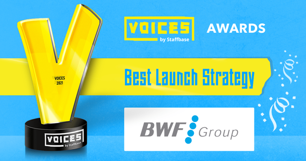 Best Launch Strategy: BWF Group