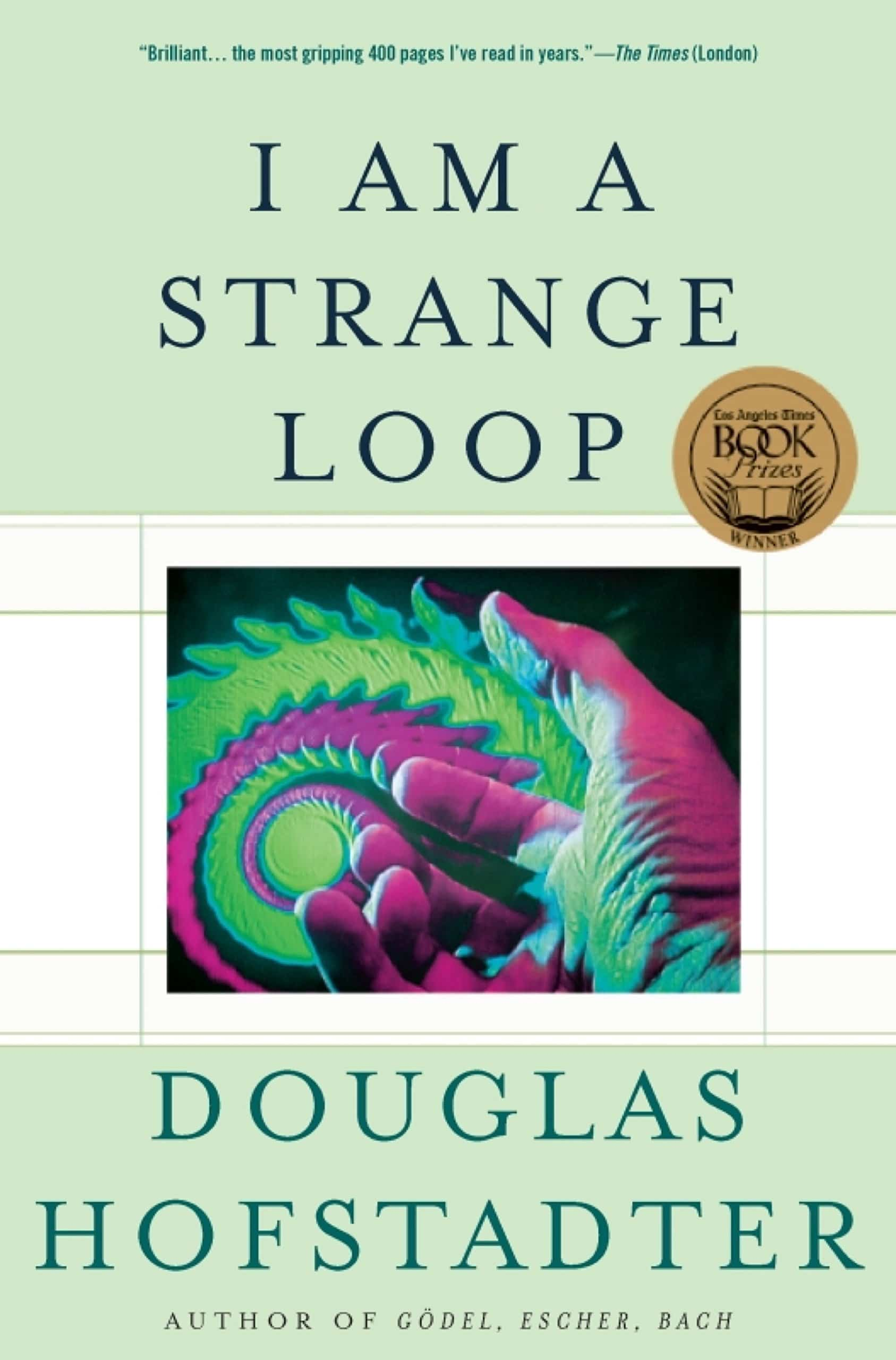The cover of I Am A Strange Loop