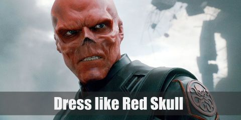 Dress like Red Skull Costume