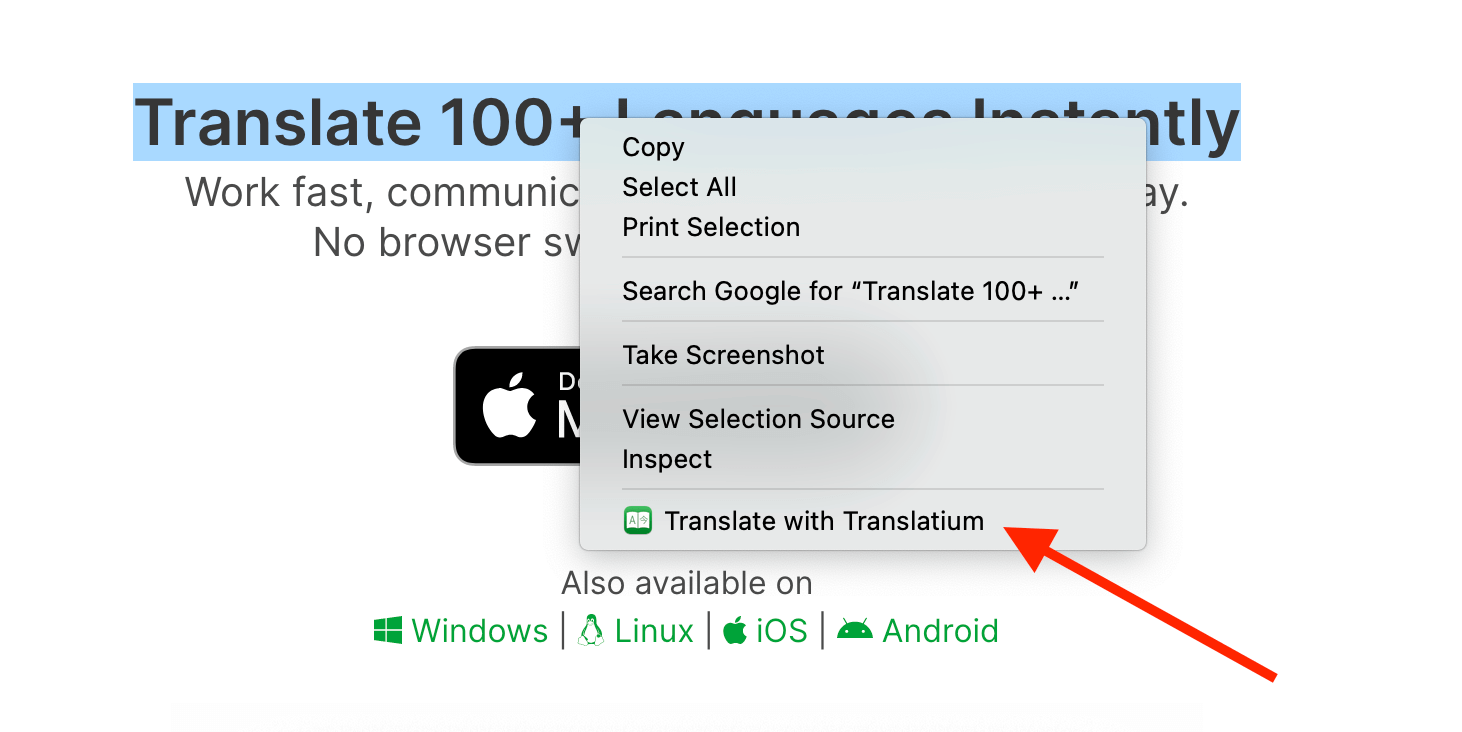 PopClip and Browser Extensions