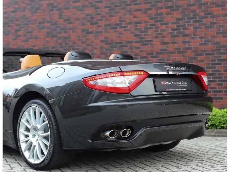 Maserati GranCabrio 4.7S *Grigio Maratta*Bose*Nieuwstaat!* afbeelding 10
