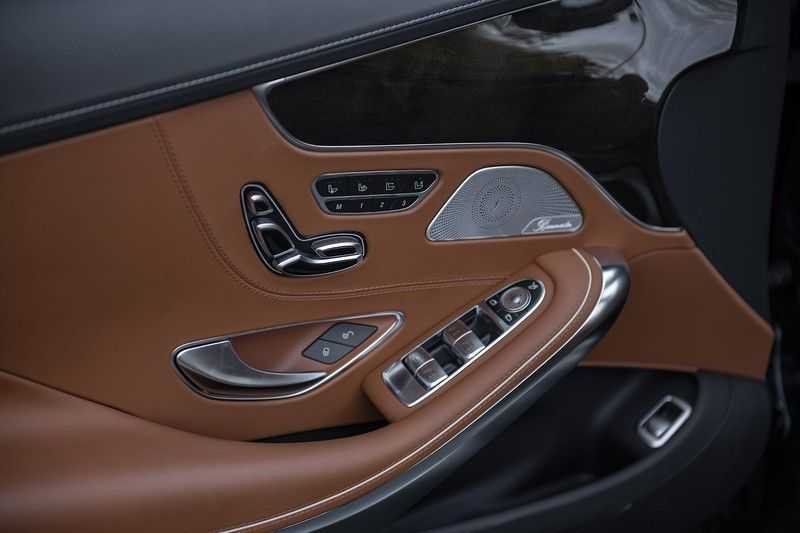 Mercedes-Benz S63 Cabrio 63 AMG 4Matic DISTRONIC + BTW + BURMESTER afbeelding 23