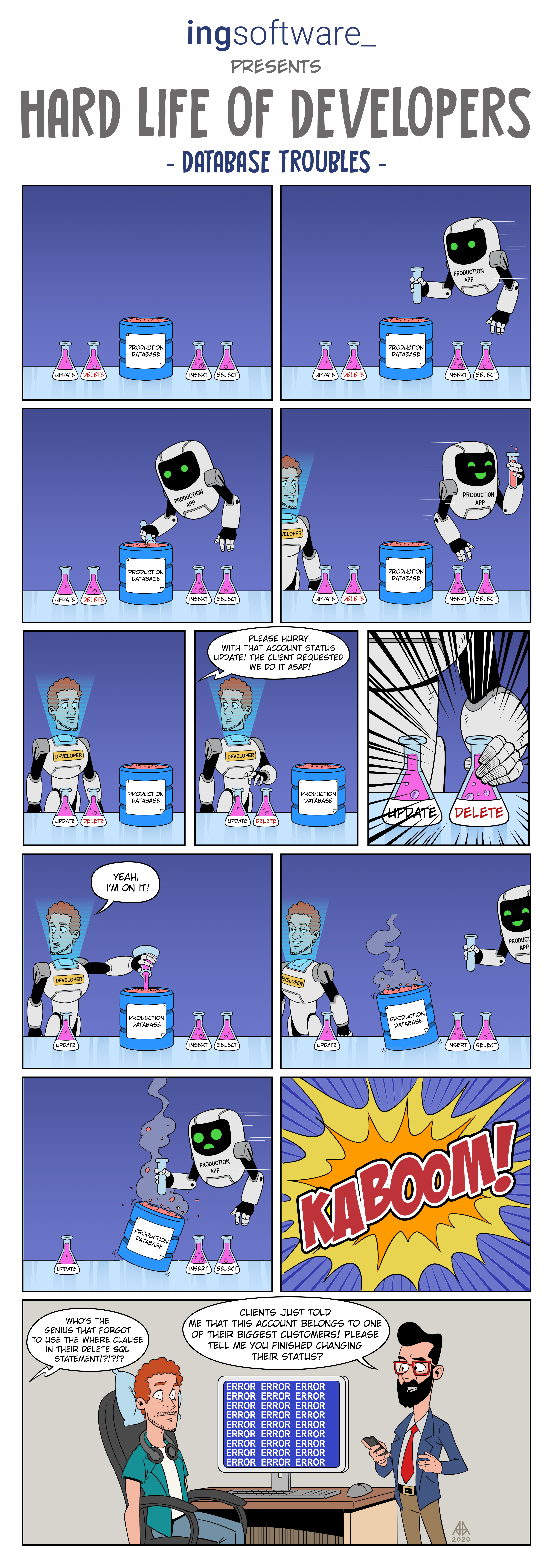 web comic page 1