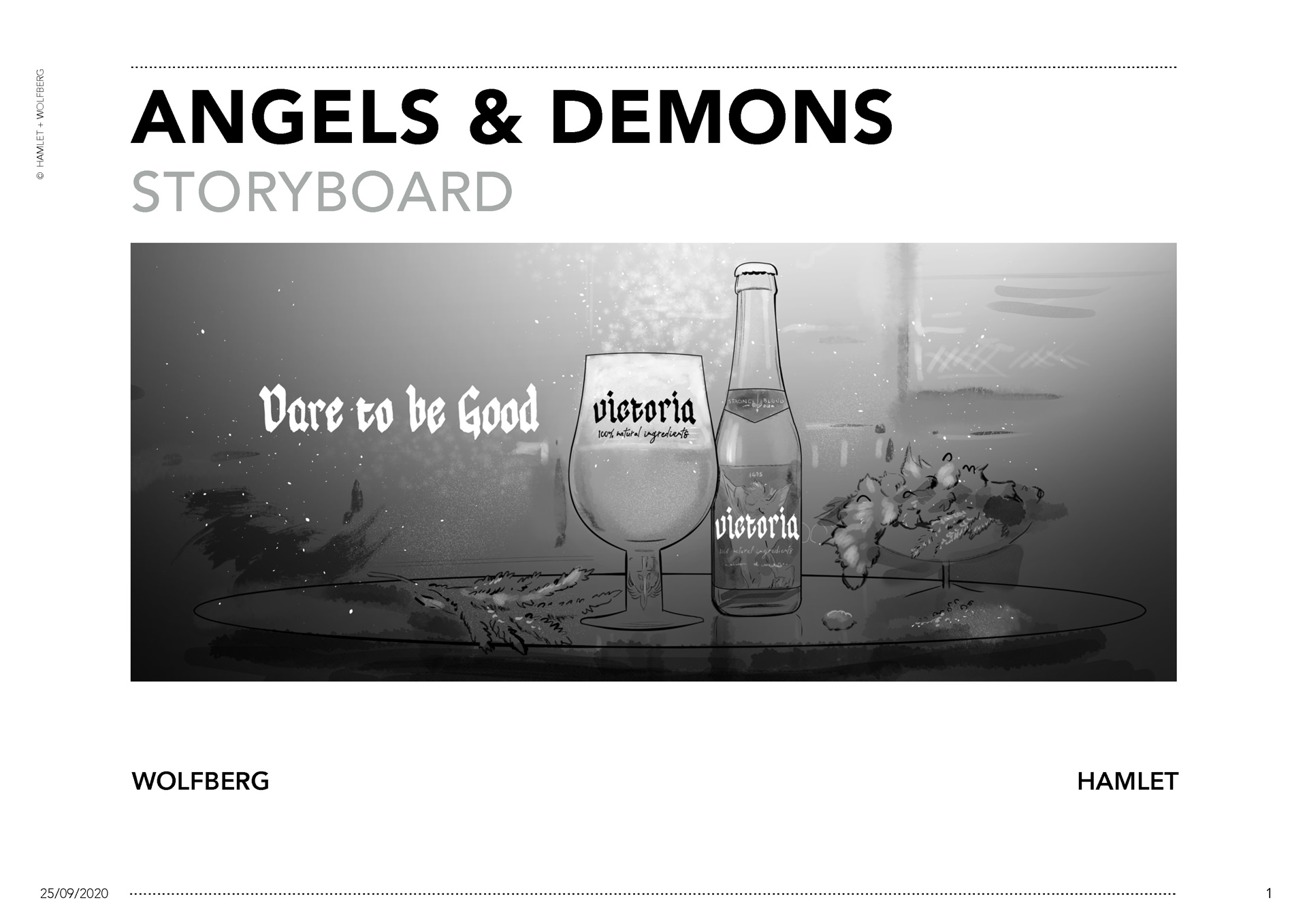 Victoria Angels & Demons storyboard 01