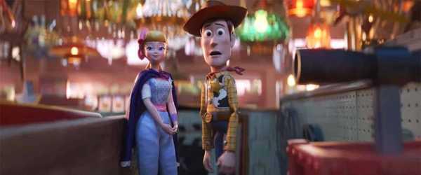Cena de Toy Story 4 da Pixar - Disney