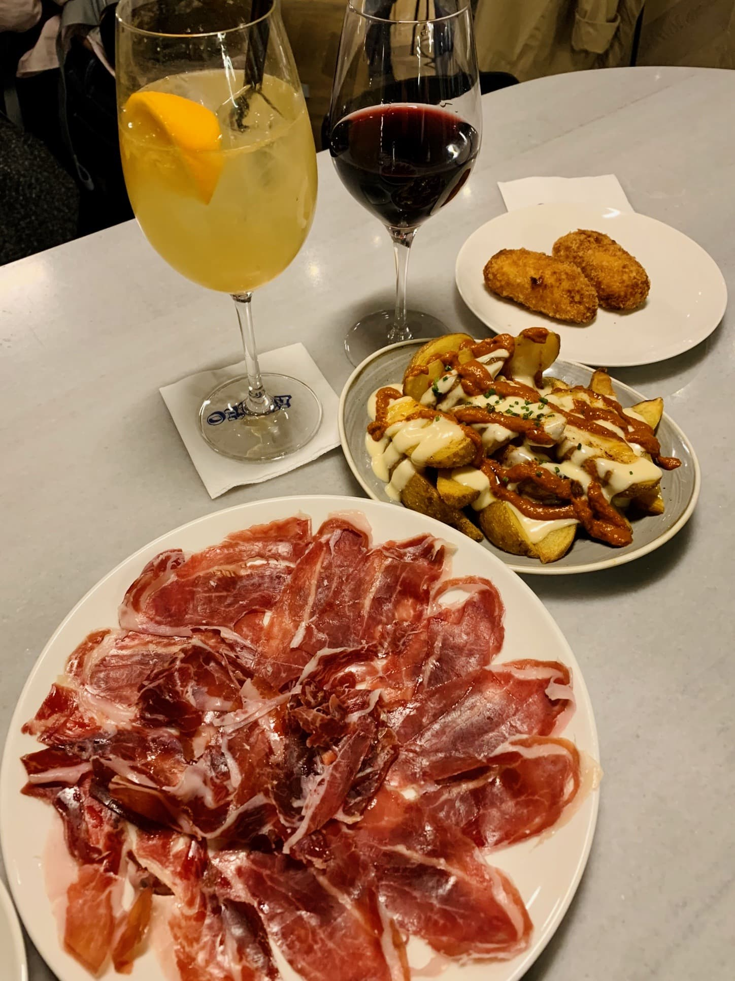 The food we ate in Barcelona