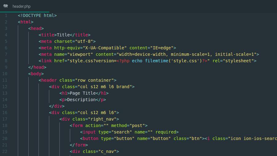Kode versioning css