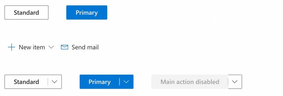 Fluent UI Buttons