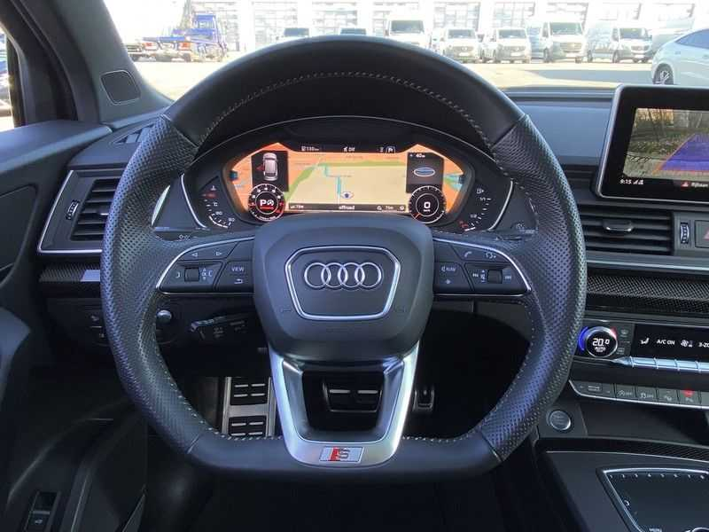 Audi Q5 2.0TFSI 252pk Quattro Black Optic Alle Opties! Lucht Tr.Haak Ruitleder Carbon Matrix Pano 20-Inch afbeelding 12