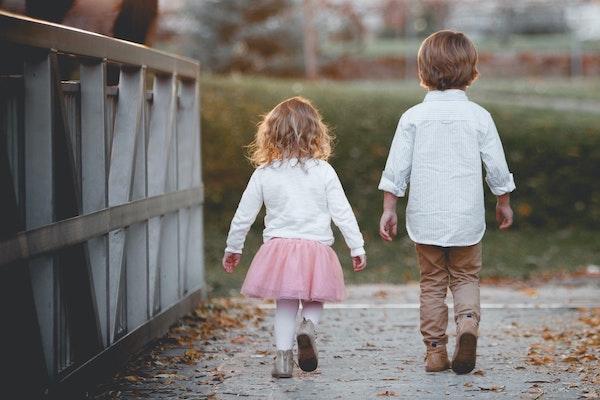 niños de paseo
