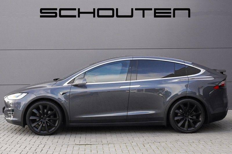 """Tesla Model X 100D Excl. BTW Luchtvering, Autopilot Leer 4% bijt. 22"""" afbeelding 8"""