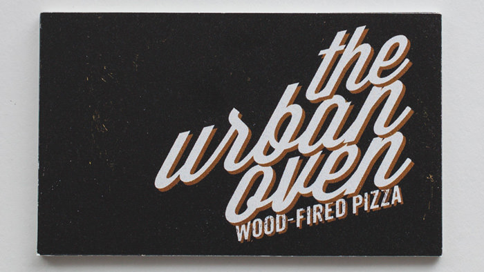 Urban Oven Business Cards