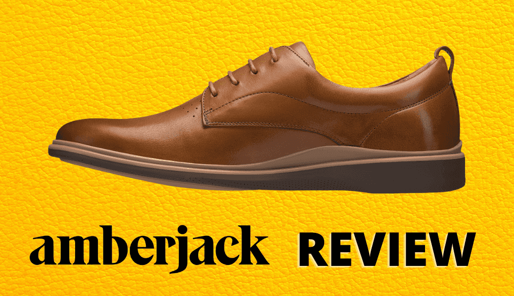 Hate Your Shoes? ,Feet Hurt? ,Read This Amberjack Shoes Review cover image