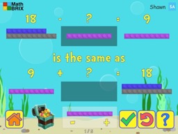 Forward, Backward: Subtraction as an unknown addend problem within 20 Math Game