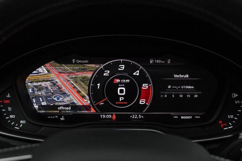 "Audi SQ5 3.0 TDI 347pk Quattro Black Edition Panoramadak Luchtvering Valconaleder B&O Keyless ACC Navi-High Matrix Camera 21""Performance Pdc Verlengde fabrieksgarantie afbeelding 22"