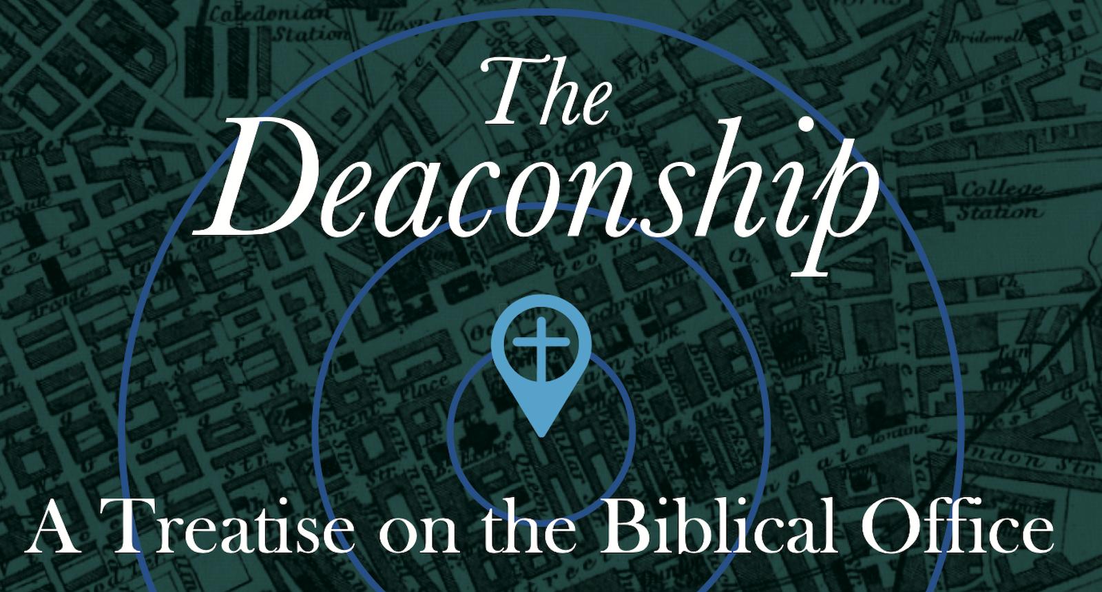 "New paperback edition of John G. Lorimer's classic work ""The Deaconship""."