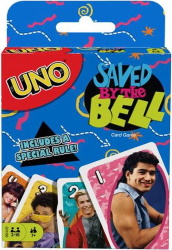 Saved by the Bell Uno Cards