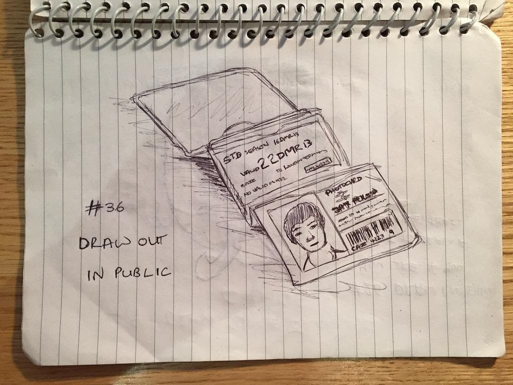 EDM #36 Draw in public
