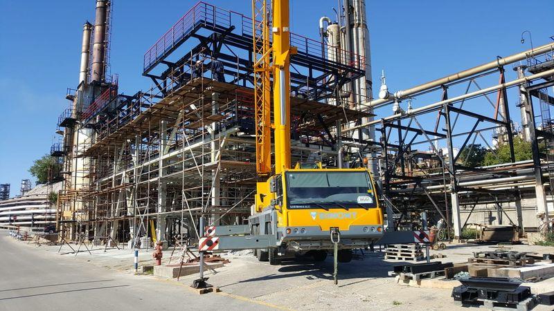 Projekt - Ölraffinerie in Rijeka