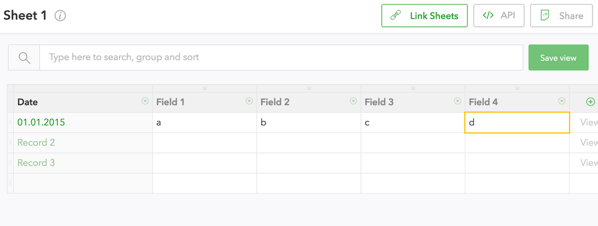 fieldbook-editor