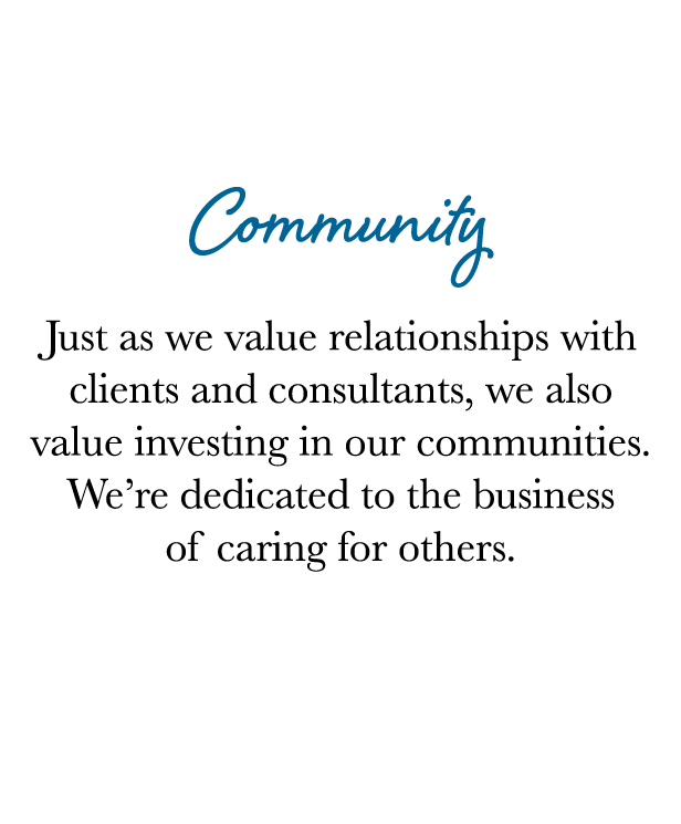 Core Values - Community