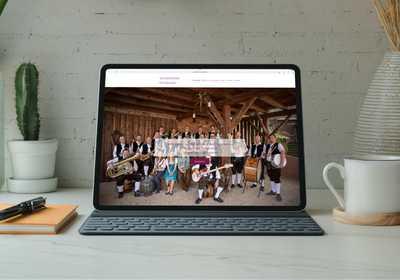 Musikverein Winzenhohl Entwicklung & Gestaltung Neue Website Projekt Screenshot