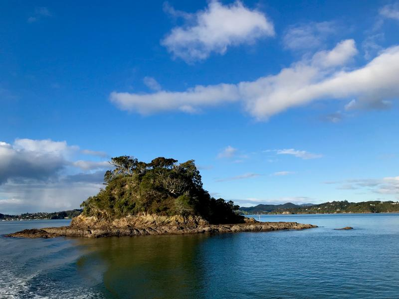 One island in the Bay of Islands