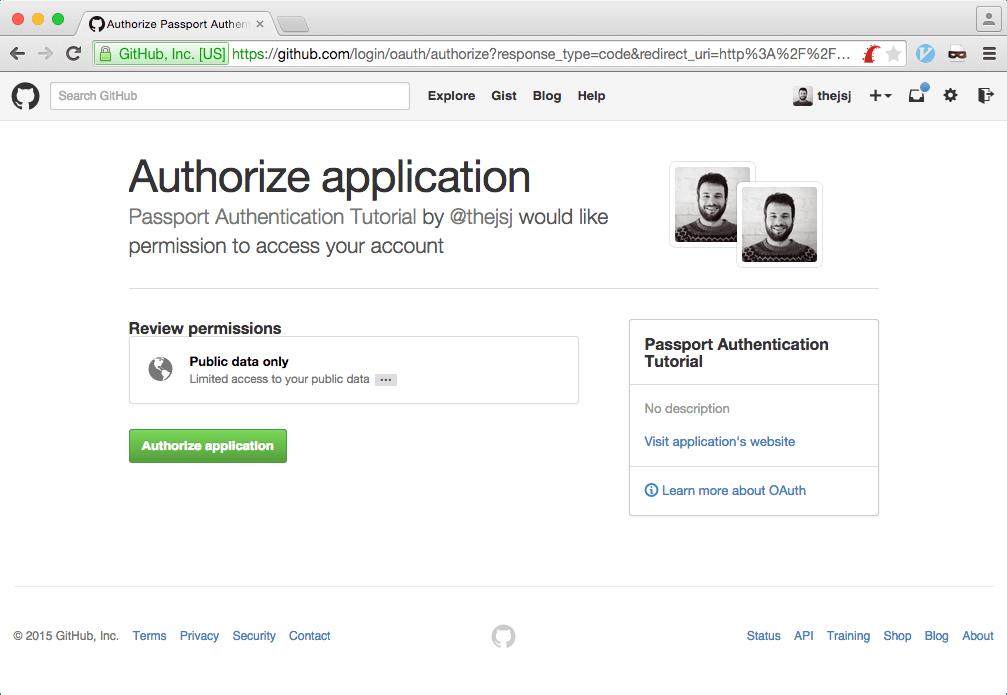 Using PassportJS OAuth with RethinkDB - RethinkDB