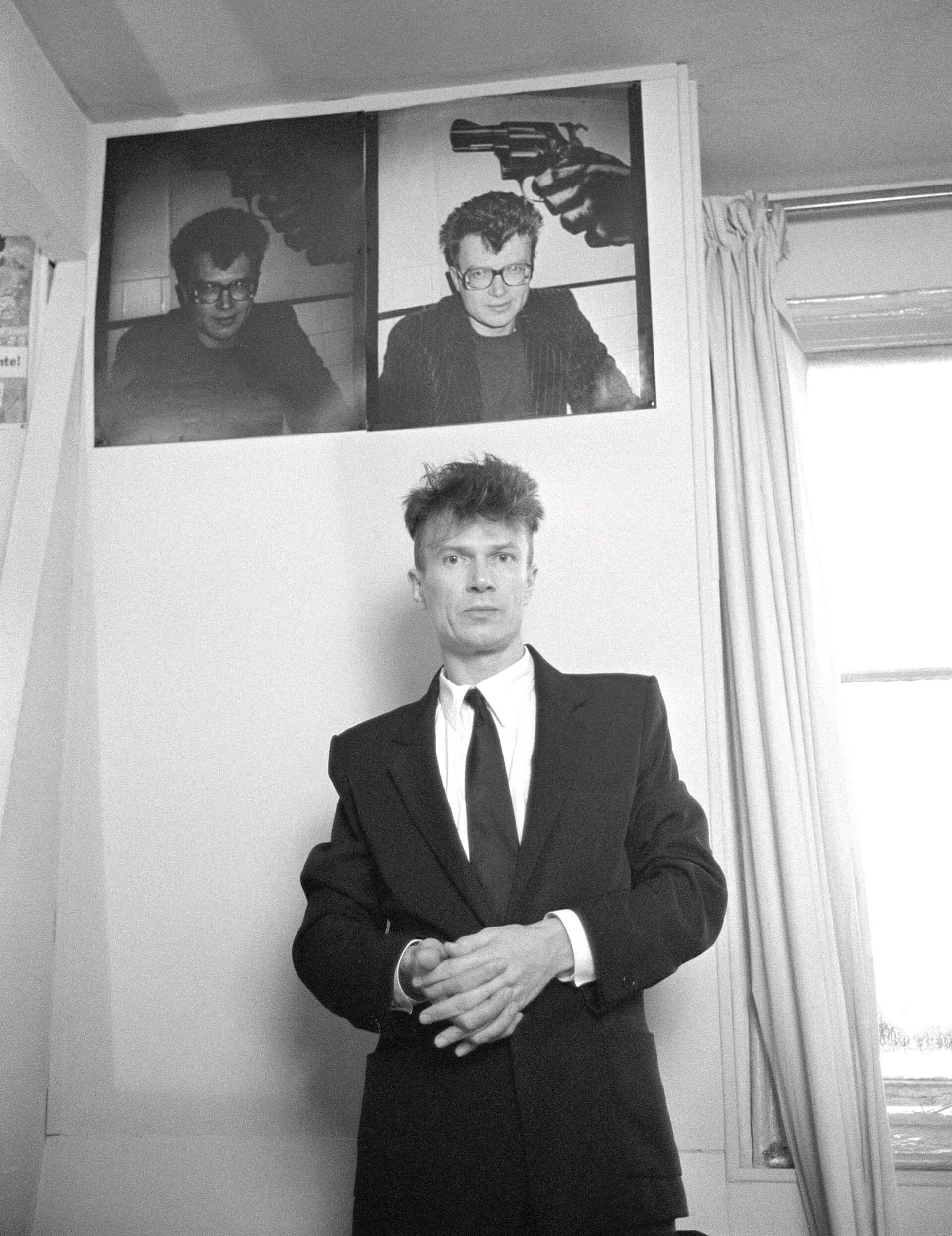 Лимонов в 1987 году в Париже. Фото: rbth.com