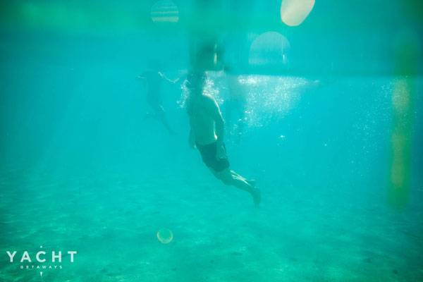 Try wild swimming with boat hire in Croatia