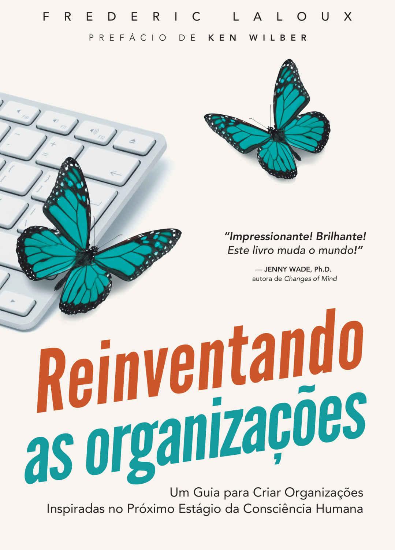 Capa do livro Reinventando Organizações de Frederic Laloux