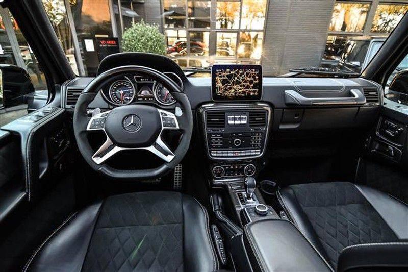 Mercedes-Benz G-Klasse G500 4x4² CARBON+SCH.DAK+AMG RIDE CONTROL afbeelding 3